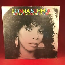 "DONNA SUMMER Love Has A Mind Of It's Own UK 12"" vinyl single EXCELLENT CONDITION"