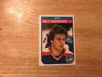 1982-83 O-Pee-Chee Dale Hawerchuk #380 (RC) also HOF in NHL 16 seasons