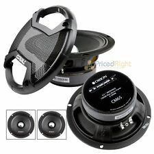 "6.5"" Midrange Speaker 1000W Max Music Power High Efficiency Orion CM65 4 Ohm"