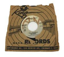 """King Records Tony Camillo's Bazuka: Dynomite Part 1 & 2 Vintage 1975  7"""" Record"""