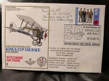 More details for sir frank whittle air race cover signed by himself with message 1972