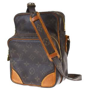 Auth Louis Vuitton Amazon Shoulder Bag Monogram Leather Brown M45236 65JC533