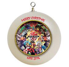 Personalized Bakugan Christmas Ornament Add Name Here