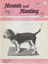 Hounds and Hunting Beagles In Print Vintage Magazine May 1987 Articles Photos