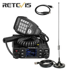 Retevis RT95 Dual Band Mobile Bus Car Radio Transceivers 200CH 25W+USB+Antenna