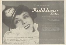 Y4611 KALIKLORA Zahnpasta - Pubblicità d'epoca - 1929 Old advertising