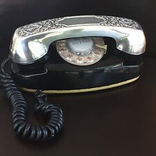 Vintage Western Electric Bell Princess Rotary Phone  G3-Silver Plate Cover