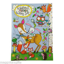 Woodland Creatures Writing Set Wallet – Stationery  Children  Letters  Stickers