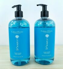 2x CRABTREE & EVELYN La Source Conditioning Hand Wash Liquid Soap 16.9 fl oz