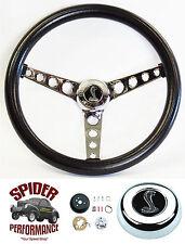 """1970-1976 Torino Gran Torino steering wheel COBRA 14 1/2"""" CLASSIC CHROME"""