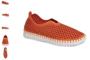 Ilse Jacobsen Tulip 139 Camelia Orange Slip-on Shoe Women's EU sizes 36-41 NEW!!