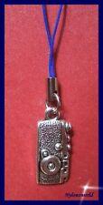 Fotokamera Apparat Handyanhänger Schlüsselanhänger Taschenanhänger NEU   (c114)