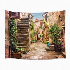 The Garden street Theme  Print Wall Hanging Tapestry Bedspread Dorm Home Decor