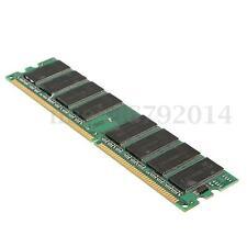 Memoria RAM Memory 1GB DDR 400 MHZ PC3200 Non-ECC SDRAM Desktop PC CL3 184 pin