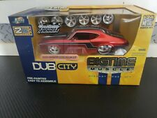 1:24 JADA Dub City BigTime Muscle 1969 Chevy CHEVELLE SS DIECAST MODEL KIT