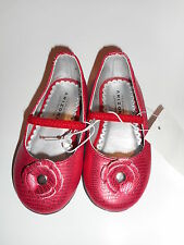 Toddler Girls Arizona Shoes Ballet Flats Red Slip-on Size 5 NWT