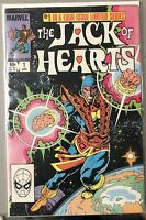 Lot Of 4 JACK OF HEARTS 1, 2, 3, 4 of 4/ 4 ISSUE LOT (1983) Complete Set