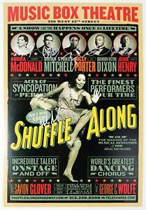 SHUFFLE ALONG Brandon Victor Dixon, Billy Porter, Audra McDonald + Signed Poster