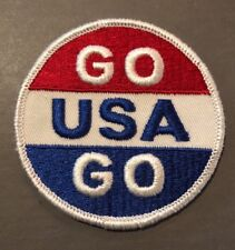 Vintage Patch NOS Go USA Go Olympics Rat Hot Rod Racing Motorcycles 70s Sports