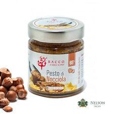 Pesto di Nocciola 65% Bacco da 190 gr - condimento per primi e secondi piatti