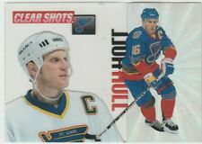 1995-96 Pinnacle Brett Hull Clear Shots