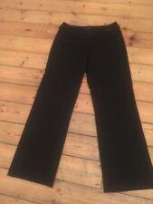 Karen Millen Black Wool Trousers  size 10