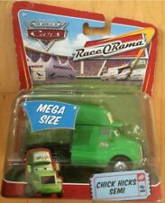 Disney Pixar Cars 2008 Race O Rama #8 MEGA Size Deluxe Chick Hicks Semi,Unopened