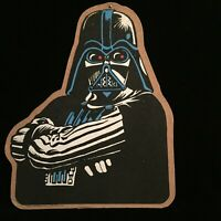 "Star Wars DARTH VADER Vintage 1980 Manton Cork Bulletin Board 20"" x 17"""