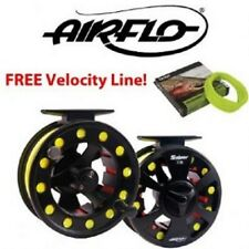 Superb Light Airflo Sniper Fly Reel 3/4 WITH FREE AIRFLO FLY LINE