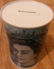 BRAND NEW £5 BANK OF ENGLAND PLASTIC NOTE IMAGE MONEY BOX TIN