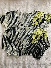 Ladies Chelsea Design Matching Top and Cardigan Size L , 14