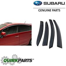 OEM 2012-2018 Subaru Impreza & WRX SEDAN Window Deflector Rain Guards E3610FJ860