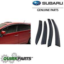 OEM 2012-2018 Subaru Impreza & WRX SEDAN Window Deflector Rain Guards E3610FJ860