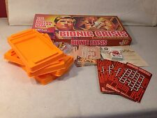 "1975 PARKER SIX MILLION DOLLAR MAN ""BIONIC CRISIS"" BOARD GAME - COMPLETE"