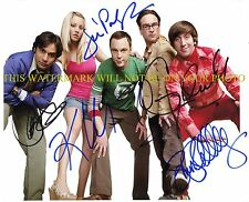 THE BIG BANG THEORY CAST SIGNED AUTOGRAPHED 8x10 RP PHOTO KALEY CUOCO JIM PARSON