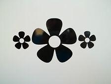 6 x Flowers Car Side Mirror Wing Mirror Vinyl Decal Stickers Van Flower