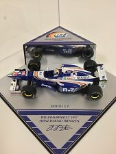 OYNX Heinz-Harald Frentzen Williams Renault 1997 British G.P. Diecast 1/43 NEW