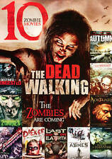 The Dead Walking: 10 Zombie Movies (DVD, 2013, 2-Disc Set)   NEW