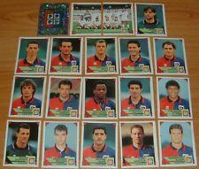PANINI FOOTBALL CALCIATORI  1993-1994 CAGLIARI COMPLET CALCIO ITALIA