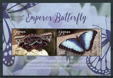 Guyana 2018 MNH Butterflies Emperor Butterfly 2v S/S Insects Stamps