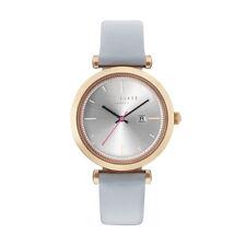 Ted Baker 10031520 Leder Silber Armband Damen Uhr