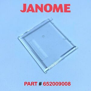 JANOME SLIDE PLATE Bobbin Cover Fits My Style 16, 20, 21, 30 etc 652 654 658 826