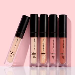 e.l.f. Elf Lip Plumping Lip Gloss Lipstick Fuller Lips Vegan Various Shades
