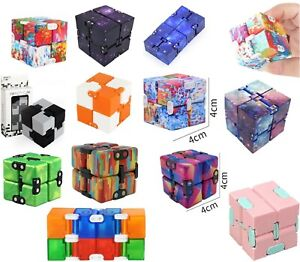 Sensory Infinity Cube Stress Fidget Toys Autism Anxiety Relief Kids Adults Gift