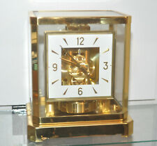 New Listing60's Jaeger LeCoultre Atmos 528-8 Perpetual Motion Clock Square Dial s/n 199454