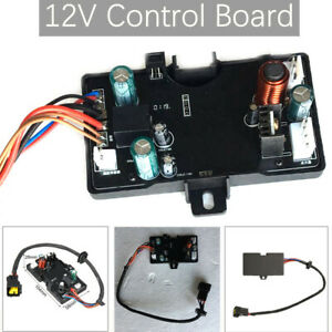 1PC Air Diesel Heater Control Board Motherboard Fit 12V 3KW/5KW Air Heate Black