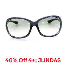 Tom Ford Womens Plastic Oval Gray Jennifer Sunglasses, 40% Off 4+: JLINDAS