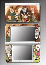 Gravity Falls Dipper Mabel Pines Oregon Stan Video Game Skin for Nintendo 3DS XL