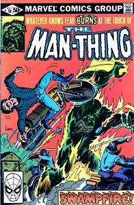 MAN THING #10 STEVE GERBER! BRONZE AGE MARVEL COMICS 1980