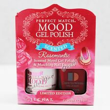 LeChat Perfect Match SCENTED MOOD Gel Polish & Lacquer Set ROSEMANTIC MPMGRS1